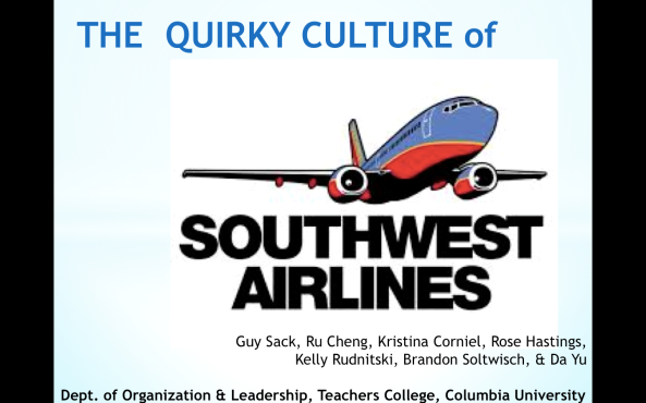 THE QUIRKY CULTURE OF SOUTHWEST AIRLINES